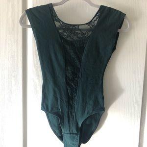 American Apparel lace bodysuit